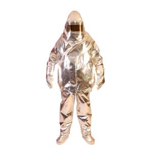 Aluxinized Fire Proximity Suits